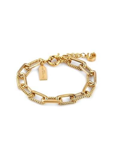 Alberto Guardiani Alberto Guardiani Ag10373Blk Jewelery Bileklik Altın